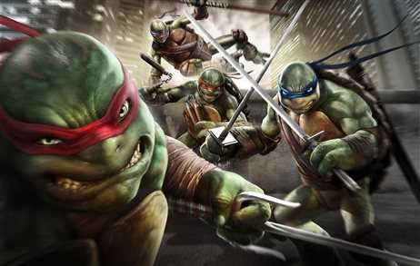 video cherepashki nindzya tmnt igra